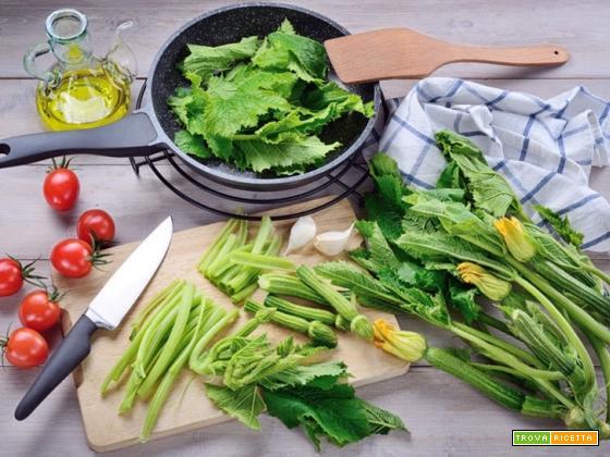 Pasta con i tenerumi, una ricetta siciliana dal sapore letterario
