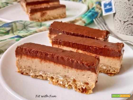 CheeseCake Gelato Proteico Arachidi e Cacao
