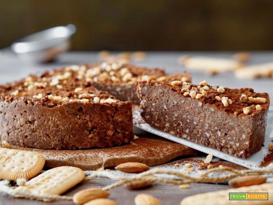 Torta al Cioccolato e Mandorle Senza Cottura