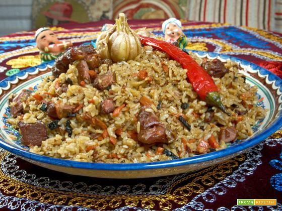 Plov uzbeko (Uzbekistan)