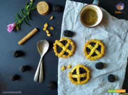 Crostatine con confettura alle more