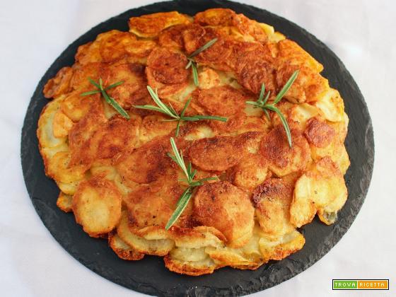 Frittata di patate senza uova