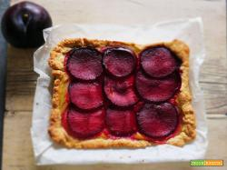 Ricetta Golosa: Frolla con Crema al Limone e Susine Rosse