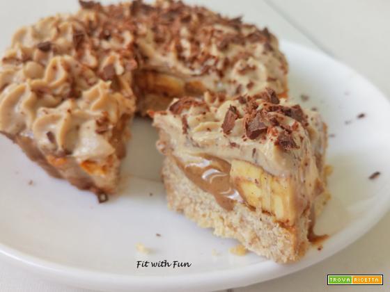 Banoffee Pie Torta Banana e Caramello Proteica