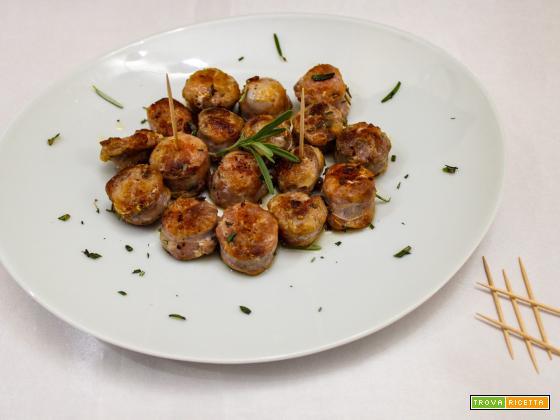 Bocconcini di salsicce al rosmarino