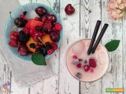 Smoothie alla frutta di stagione