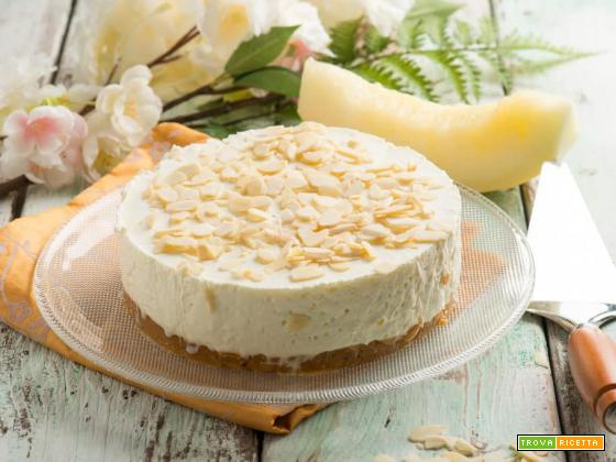 Cheesecake al melone bianco, un dolce buonissimo
