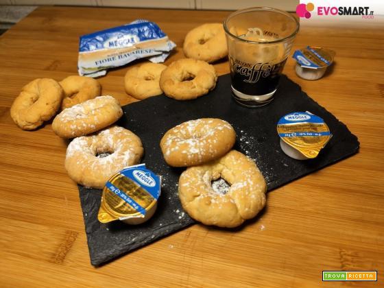 Biscotti di pasta frolla burrosi e perfetti con il Friore Bavarese Meggle Italia