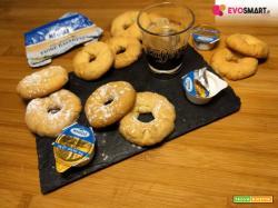 Biscotti di pasta frolla burrosi e perfetti con il Friore Bavarese Meggle