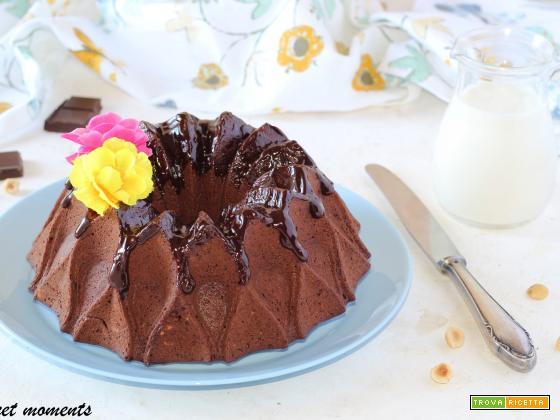 Bundt cake al cacao e nocciole