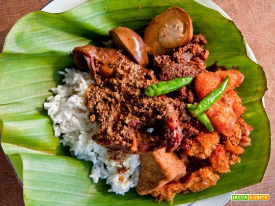 Nasi gudeg (Indonesia)