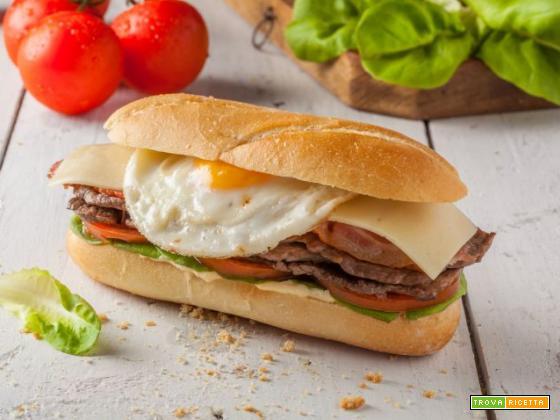 Chivito al pan (Uruguay)