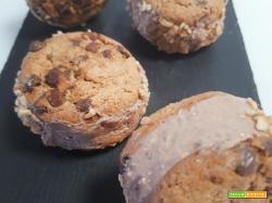 Biscotto gelato alla crema di nocciole (senza gelatiera)
