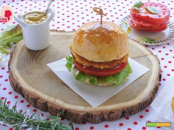 Buns con Hamburger di ceci