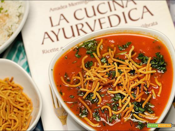 Sev tamatar sabzi Gujarati senza glutine