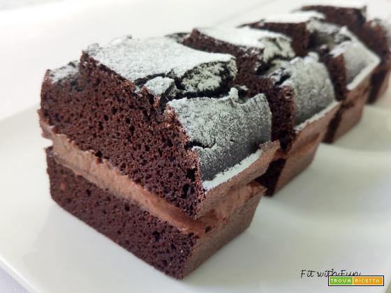 Mini Torta Cocco e Cacao Proteica Low Carb