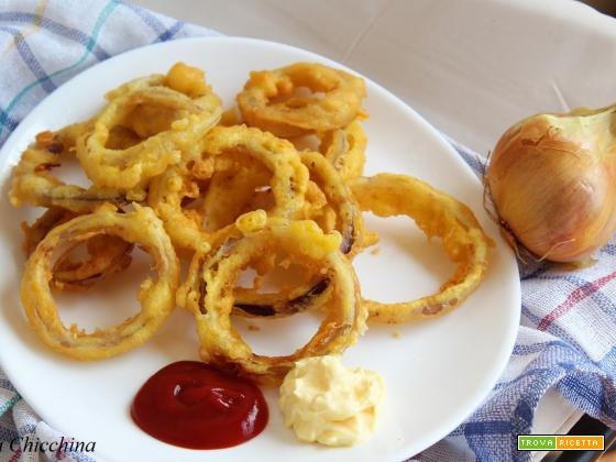 Onion rings a modo mio