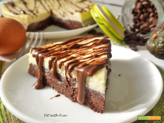 Brownie Cheesecake Light Chetogenica Senza Zucchero