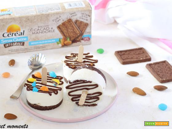 Mini cheesecake su stecco