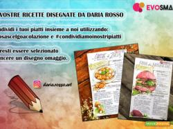 Le vostre ricette disegnate da Daria Rosso: ecco la crostata di albicocche e rosmarino di Giusi