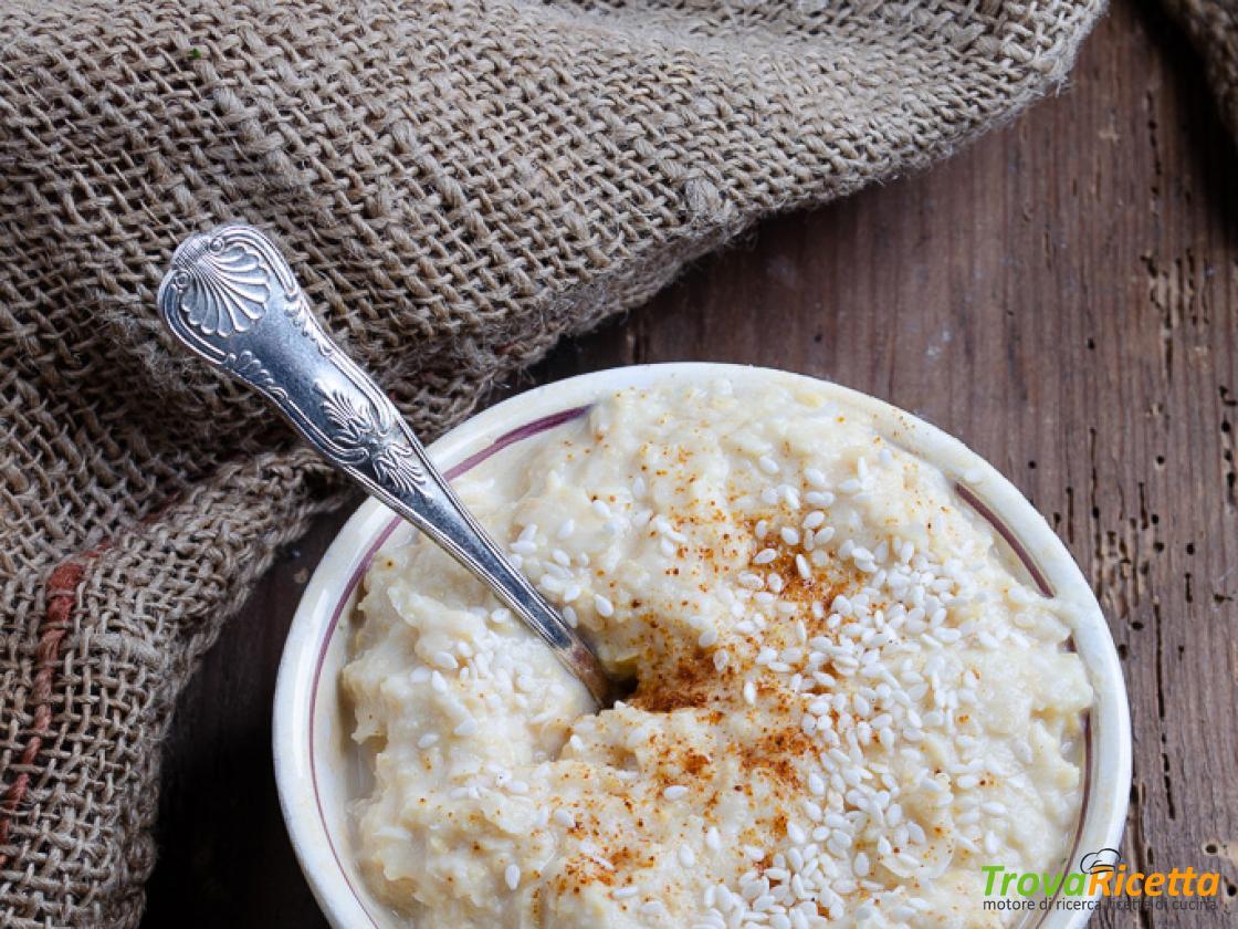 Ricetta Hummus Greco.Hummus Di Ceci Con Yogurt Greco Ricetta Trovaricetta Com