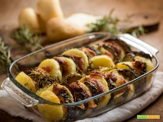 Melanzane e patate al forno, un contorno perfetto