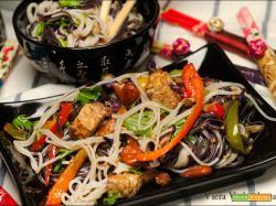 Noodles Kong Soba senza glutine con le verdure