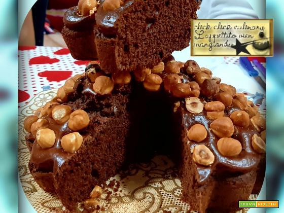 Torta Cacao e Nocciole Cotta in Friggitrice ad Aria