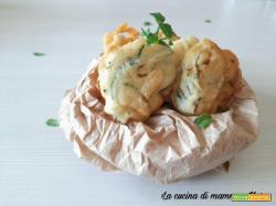 Frittelle di zucchine alla menta – Ricetta Calabrese