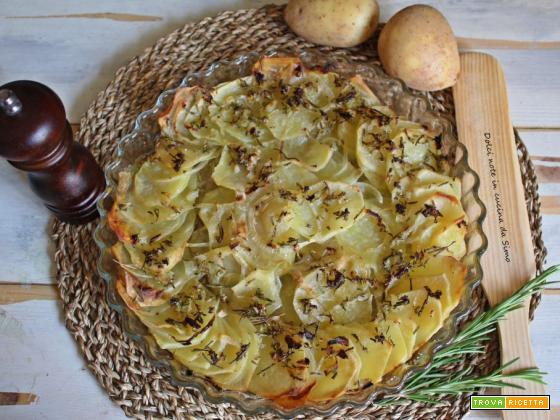 TORTA di patate saporita