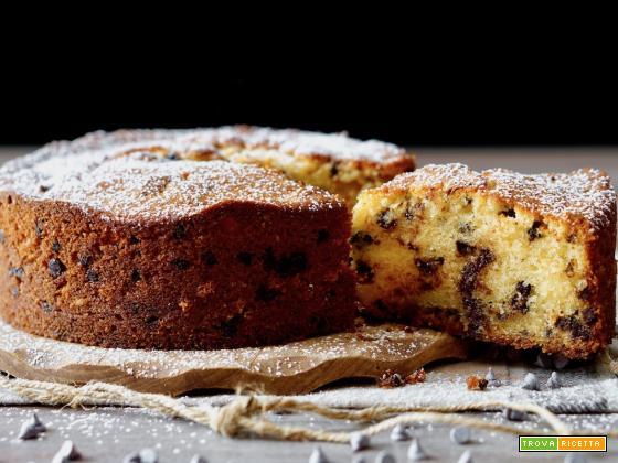 Torta Sofficissima al Mascarpone e Gocce di Cioccolato