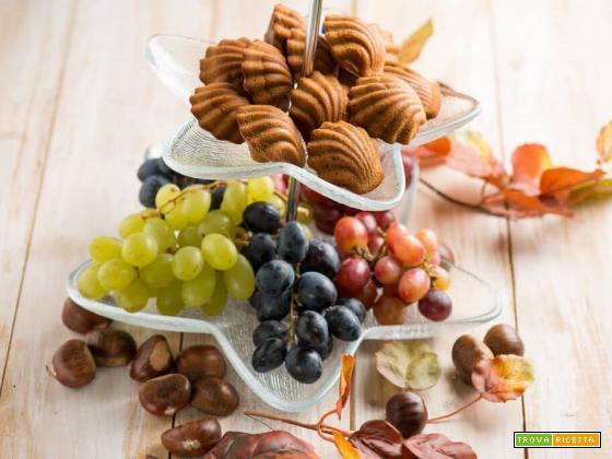 Madeleines di castagne, dolcetti dal sapore insolito