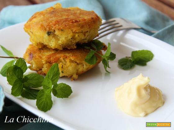 Polpette di merluzzo e patate croccanti