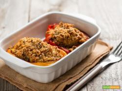 Peperoni ripieni con salame di oca, un piatto per stupire