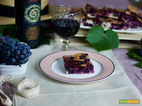 Tempo di vendemmia: Schiacciata con l'uva veloce!