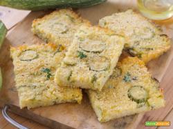 Torta di Riso e Zucchine Salata