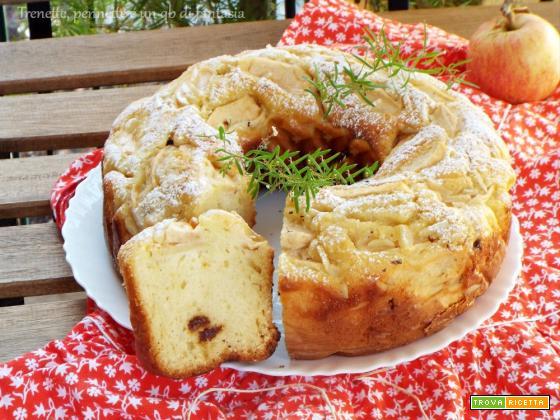 Ciambella di mele nel fornetto Versilia