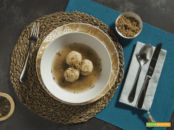 Canederli con Salame Cacciatore Italiano, delizia senza lattosio