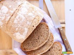 Pane integrale con farina d'orzo