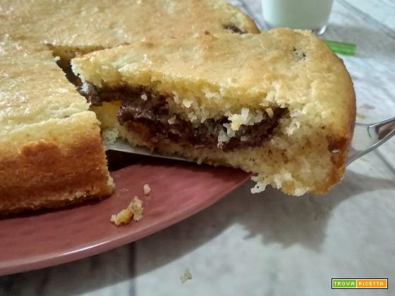 Torta mascarpone cocco e nutella