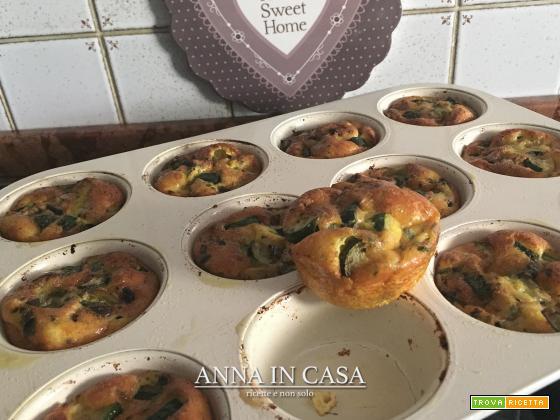 Muffin veloci di frittata di Benedetta
