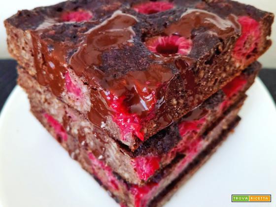 Mini Torta Proteica e Light Cacao e Lamponi