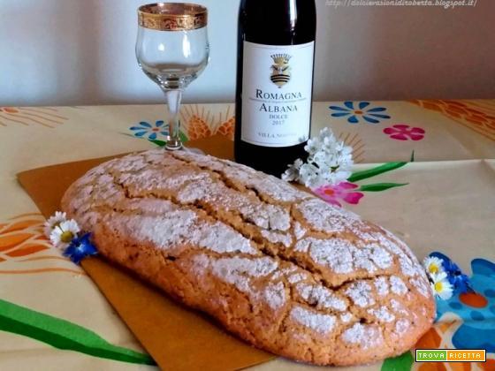 Ciambella Romagnola - Ricetta Tradizionale con lo strutto (più buona e gustosa)