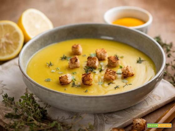 Zuppa di quinoa con erbe aromatiche, un primo intenso