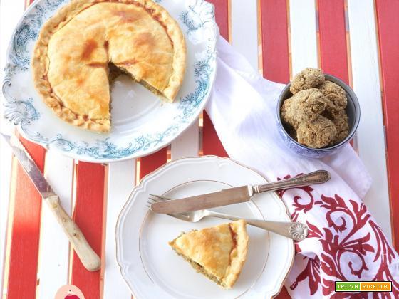 Torta Salata con Melanzane e….