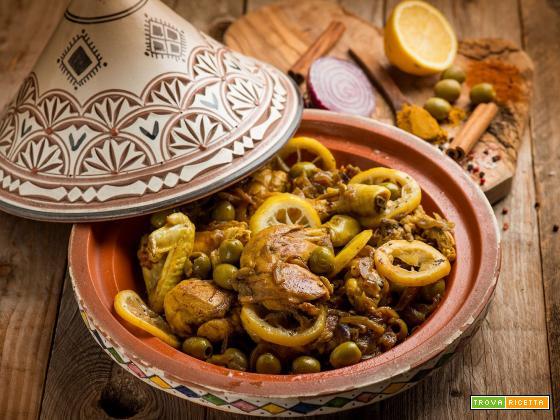 Djej Besla, il delizioso pollo alla marocchina