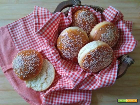 Burger buns- Panini per hamburger