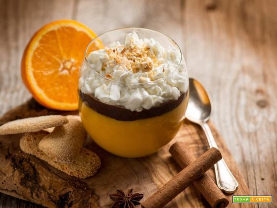 Pudding di tapioca con arancia e cannella, goloso