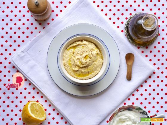 Hummus di Ceci allo Yogurt