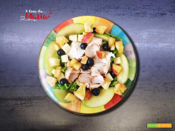 Insalata di tacchino e frutta